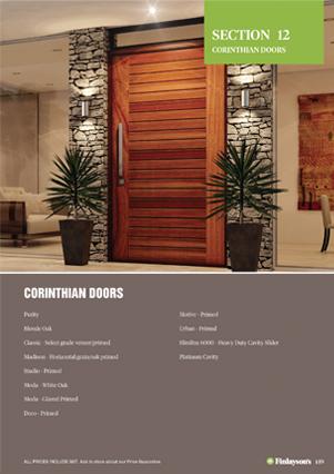Finlaysonu0027s Corinthian Doors & Corinthian Doors | Finlayson Timber and Hardware