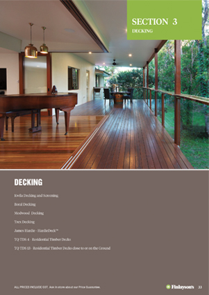 Decking | Finlayson Timber and Hardware