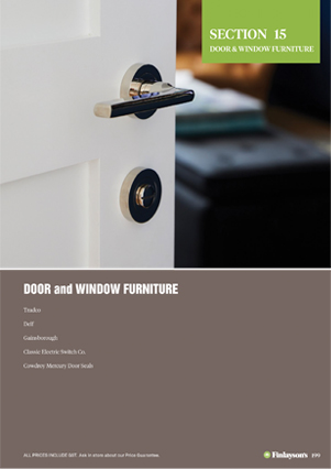 Finlayson's Door and Window Furniture