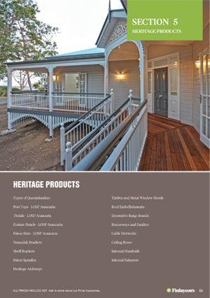 Finlayson's Heritage Products