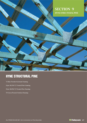 Finlayson's Hyne Structural Pine