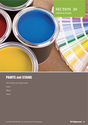 Finlayson's Paints and Stains