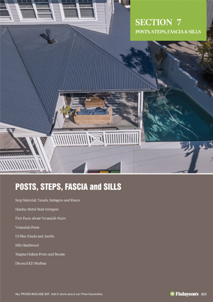 Finlayson's Posts, Steps, Fascia and Sills